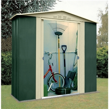 6ft x 3ft Select Six Metal Shed (1.83m x 0.92m)