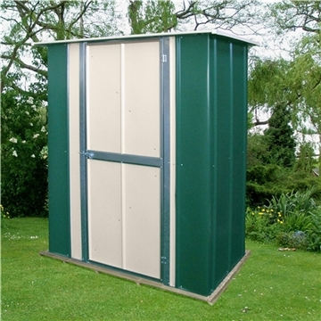 5ft x 3ft Select Utility Metal Shed (1.58m x 0.92m)