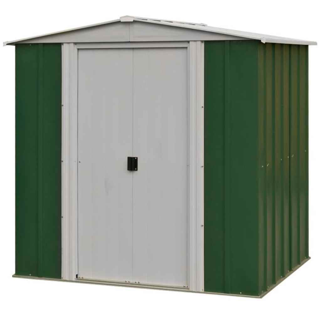 6ft x 5ft Metal Apex Shed (1940mm x 1510mm)