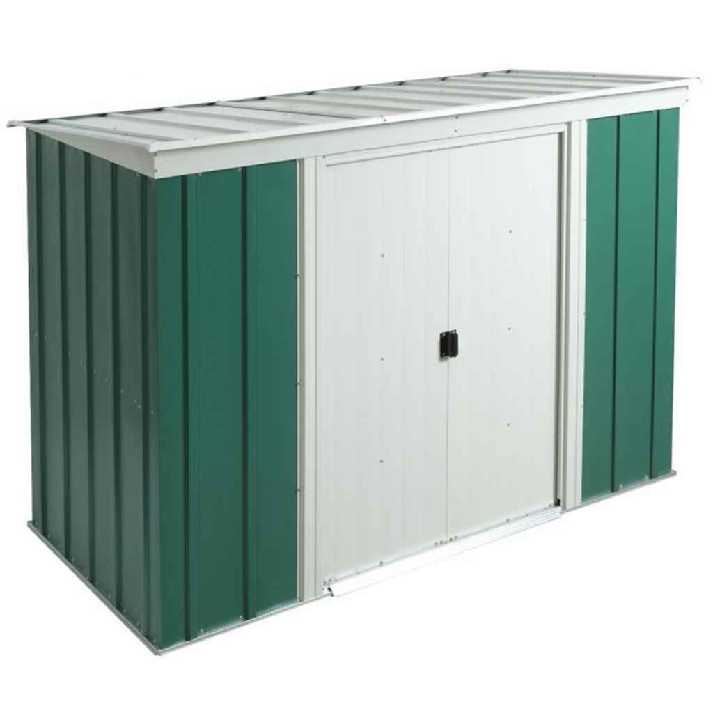 8ft x 4ft Metal Pent Shed (2540mm x 1190mm)