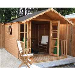 12 x 8 Wessex Summerhouse (12mm Tongue and Groove Floor and Roof)