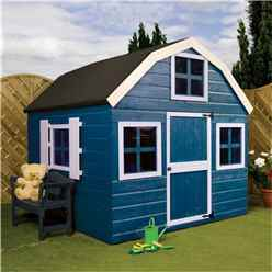 6 x 6 Wooden Dutch Barn Playhouse