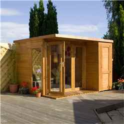 10 x 8 Contempory Gardenroom Large Combi (12mm Tongue and Groove Floor and Roof)