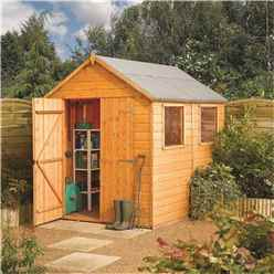 8ft x 6ft Tongue and Groove Shed (12mm Tongue and Groove Floor)