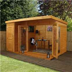 12 x 8 Contempory Gardenroom Large Combi (12mm Tongue and Groove Floor and Roof)