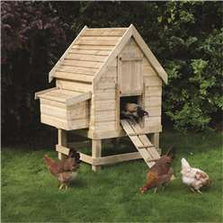 Small Chicken Coop - Houses 4 Chickens