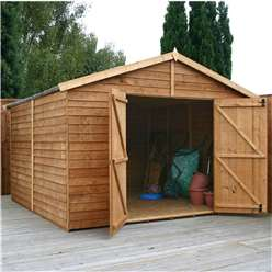 10ft x 10ft Windowless Overlap Apex Workshop (10mm Solid Osb Floor)***Extended Delivery Typically 14 Working Days As Treated As Special- Please See Product Page For More Info
