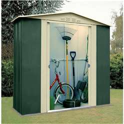 6 x 3 Select Six Metal Shed (1.83m x 0.92m)