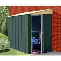 4ft x 8ft Select Lean-To Metal Shed (1.23m x 2.46m)