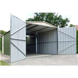 10ft x 17ft Select Metal Garage (3.07m x 5.26m)