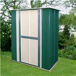 **PRE ORDER - CURRENTLY OUT OF STOCK** 5 x 3 Select Utility Metal Shed (1.58m x 0.92m)