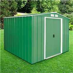 **PRE ORDER - DUE BACK IN STOCK 15TH JUNE** 8ft x 8ft Select Value Metal Shed (2.61m x 2.42m)