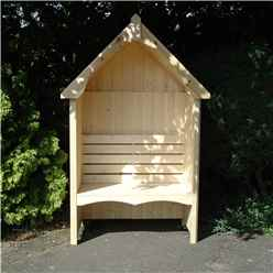 "4ft 5"" x 2ft 4"" Seat Arbour"
