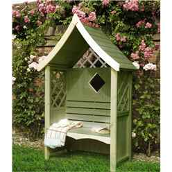 "4ft 1"" x 2ft 1"" Seat Arbour"