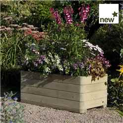 "Marberry Rectangular Planter 3'3"" x 1'7"" (1.0m x 0.50m)"