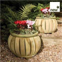 Marberry Ball planters (Pack of 2)