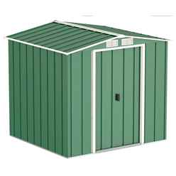 6 x 6 Select Value Metal Shed (2.01m x 1.82m)