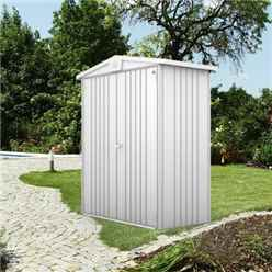6FT X 3FT PREMIUM HEAVY DUTY METALLIC SILVER METAL SHED (1.72M X 0.84M)
