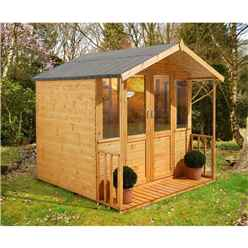 7 x 7 Alyssa Summerhouse - ASSEMBLED