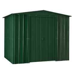 8 x 5 Apex Heritage Green Metal Shed (2.34m x 1.44m)