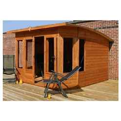 INSTALLED 10 x 10 Helios Summerhouse (12mm Tongue and Groove Floor and Roof) - INCLUDES INSTALLATION