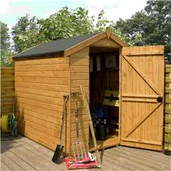 INSTALLED 7 x 5 Windowless Premier Tongue and Groove Apex Shed (12mm Tongue and Groove Floor and Roof) - INCLUDES INSTALLATION