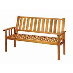 3 Seater - 1 Piece - Homestead Bench - Free Next Working Day Delivery (Mon-Fri)