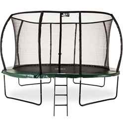 12ft MK II Deluxe Jump Capsule with Safety Enclosure + FREE Ladder - FREE 48HR DELIVERY*