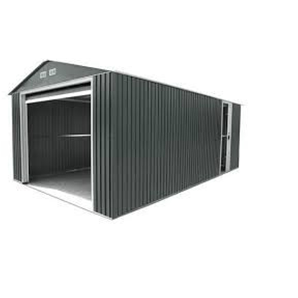 20 20 Metal Garage : Select value metal garage m shedsfirst