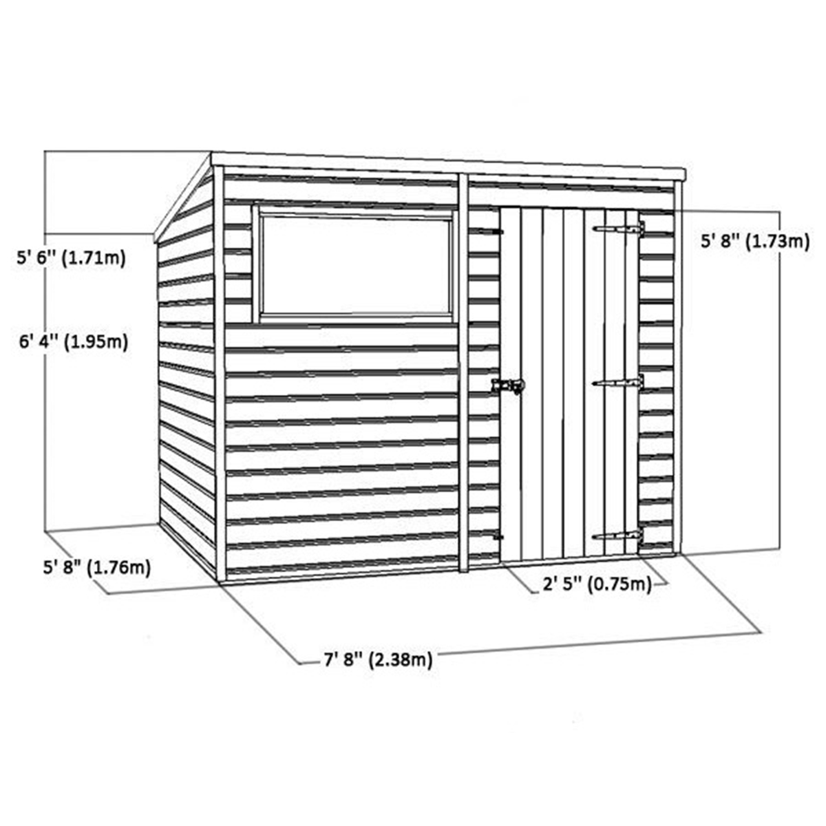 Samuel osb thickness for shed roof for Roof sheathing thickness