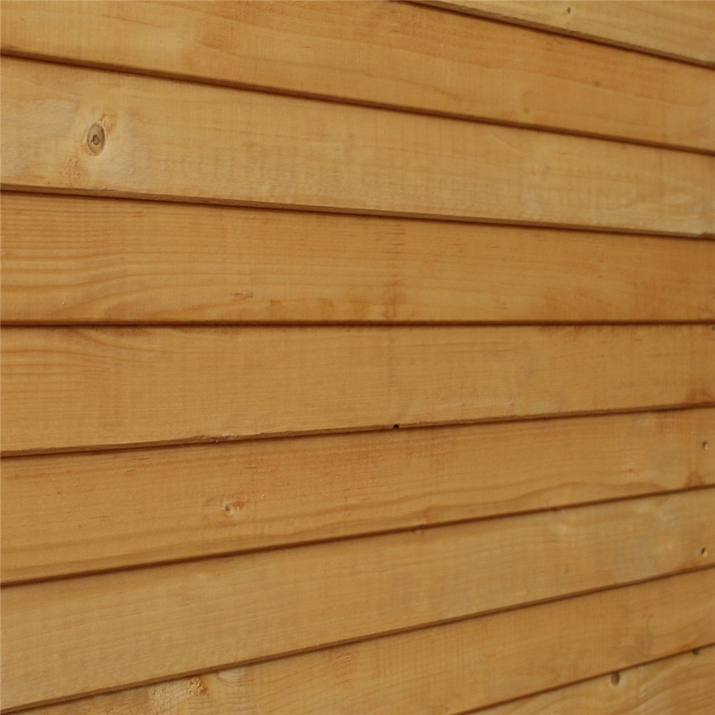 8 X 6 Wooden Shiplap Tongue And Groove Plus 48hr Sat