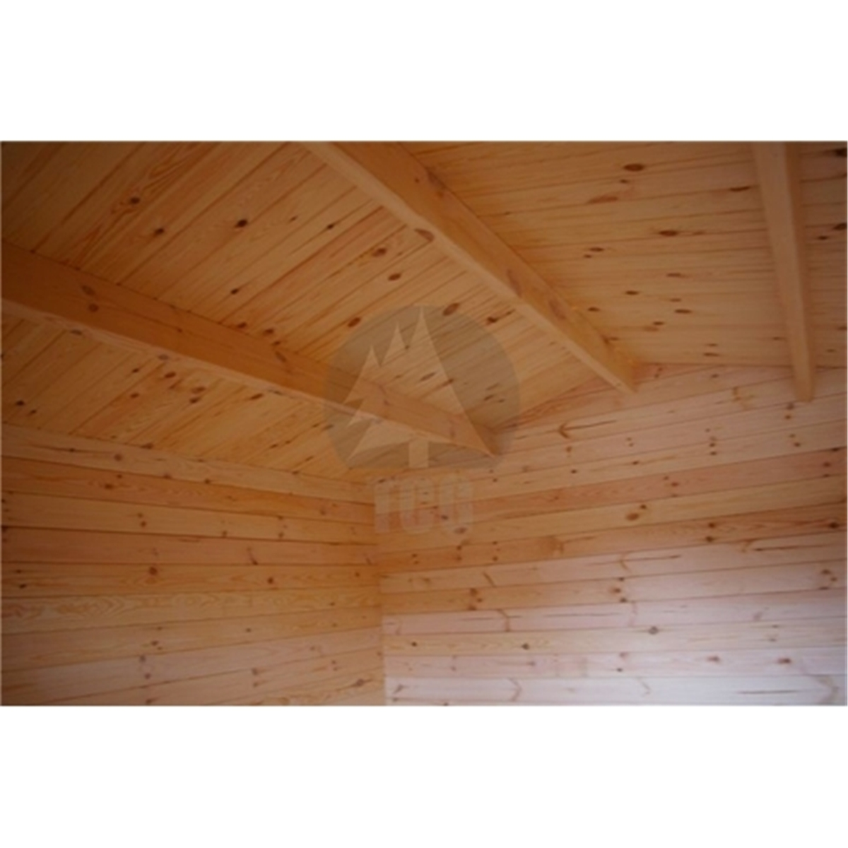 Marvelous photograph of Uppingham Log Cabins : 5m x 3m (16 x 10) Apex Log Cabin (2089  with #4E2308 color and 1200x1200 pixels