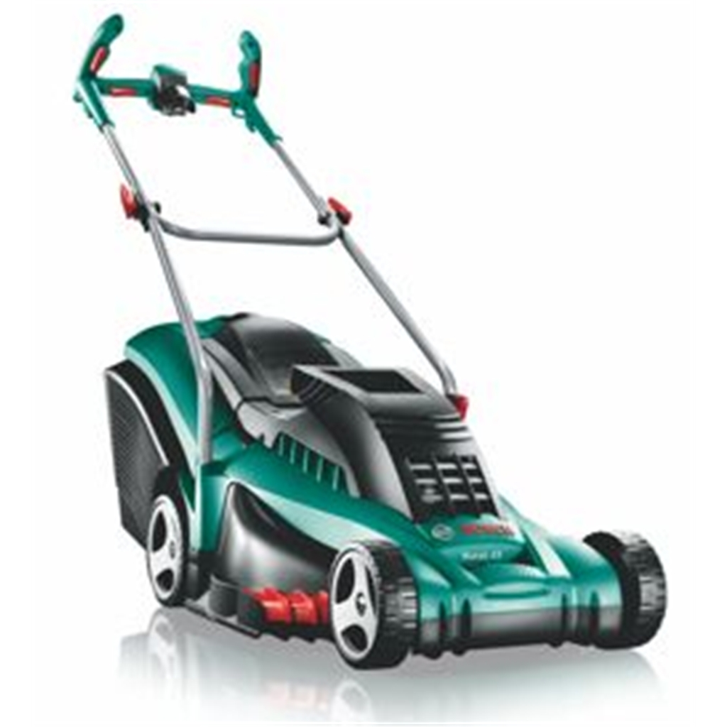 bosch rotak 43 lithium ion 36v ergoflex cordless rotary mower shedsfirst. Black Bedroom Furniture Sets. Home Design Ideas