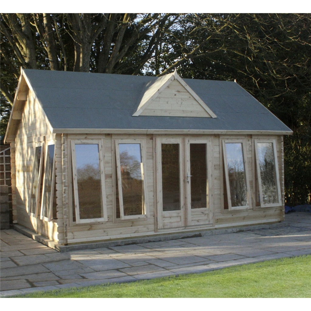 Superb img of Clock House Log Cabin (Double Glazing)   Free Floor & Felt & Safety  with #748447 color and 1024x1024 pixels