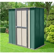 Madrid - 8FT x 3FT PREMIER UTILITY METAL SHED (2.45m x 0.92m)