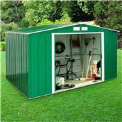 Madrid - 8FT x 10FT VALUE METAL SHED (2.61m x 3.02m)