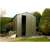 Madrid - 8FT x 8FT PREMIER EASY KIT METAL SHED (2.50m x 2.59m)