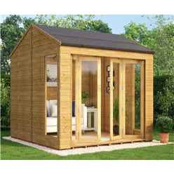 8ft x 12ft Cannes Tongue and Groove Summerhouse