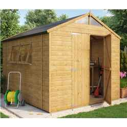 7ft x 7ft Norwell Tongue and Groove Summerhouse