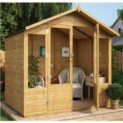 5ft x 7ft Norwell Tongue and Groove Summerhouse