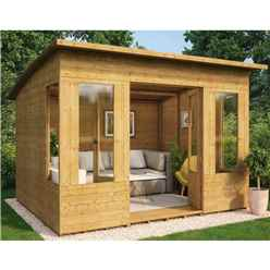 8ft x 10ft Verano Tongue and Groove Summerhouse