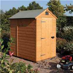 INSTALLED 6 x 4 Security Tongue and Groove Shed (12mm Tongue and Groove Floor) INCLUDES INSTALLATION