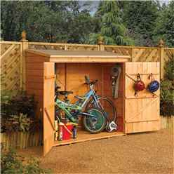 INSTALLED 6 x 3 Tongue and Groove Wallstore / Bike Shed (1825mm x 825mm) INCUDES INSTALLATION
