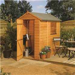 INSTALLED 6 x 4 Modular Tongue and Groove Shed (11mm Solid OSB Floor) INCLUDES INSTALLATION