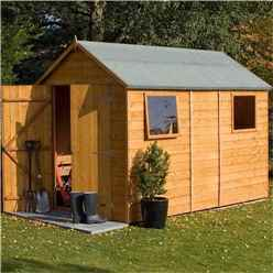 INSTALLED 10 x 6 Tongue and Groove Shed (12mm Tongue and Groove Floor) INCLUDES INSTALLED