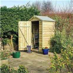 INSTALLED Deluxe 4 x 3 Oxford Shed INCLUDES INSTALLATION