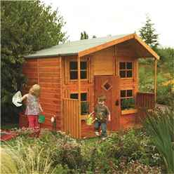INSTALLED Hideaway House Playhouse (2.48m x 2.48m) INCLUDED INSTALLATION