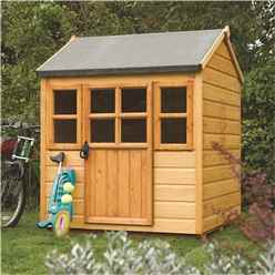 INSTALLED Little Lodge Playhouse 4 x 4 (1.25m x 1.29m) INCLUDES INSTALLATION