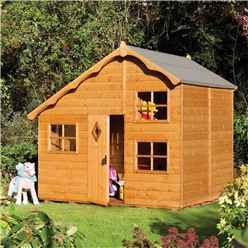 INSTALLED Playaway Swiss Cottage Playhouse (2500mm x 2080mm) INCLUDES INSTALLATION
