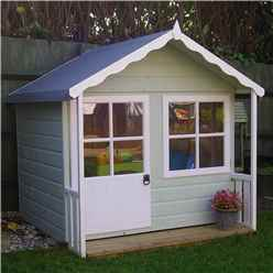 INSTALLED 5 x 5 Playhouse With Veranda